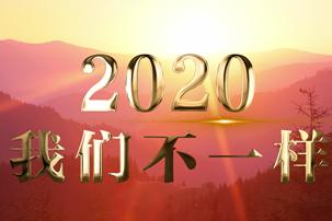 快闪 | 2020:我们不一样