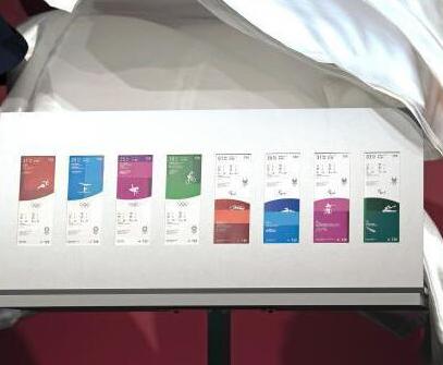东京奥运会门票样式公布:配项目图标及场馆外观