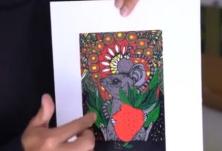 绝世刀王!云南普洱11位版画家雕刻老鼠迎新年 一画一版