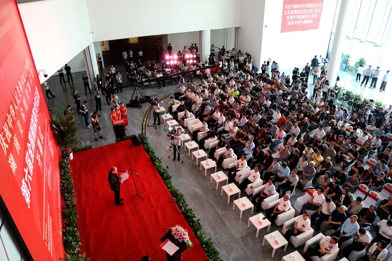 湖南美术馆开馆首展、第六届全国画院美术作品展开幕