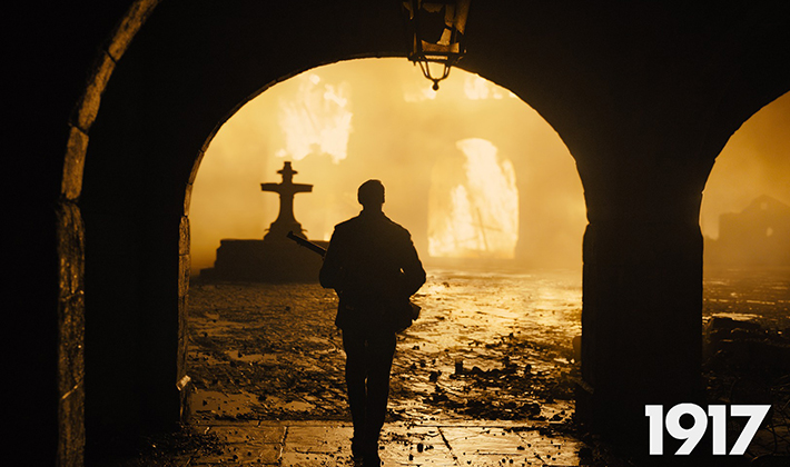 """视频丨冲奥热门《1917》即将上映 """"一镜到底""""直播战争"""