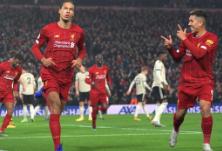 英超:利物浦2-0曼联豪取13连胜 少赛一场仍16分领跑
