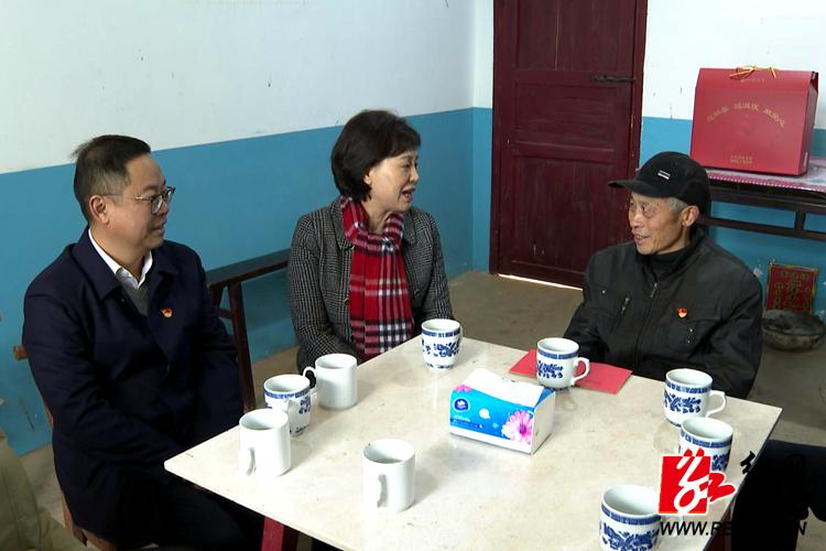 【温暖过年】黄兰香来湘乡走访慰问困难群众和基层干部
