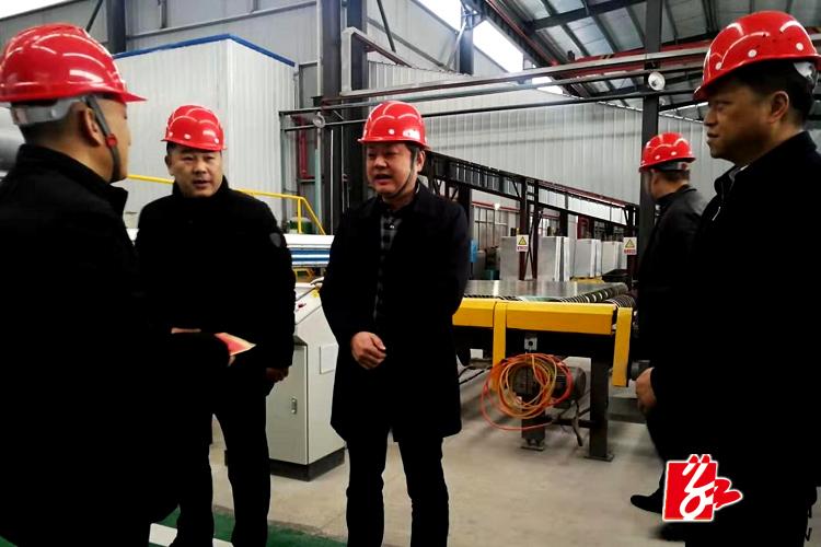 【温暖过年】张茂丰看望慰问一线产业工人