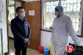 """市长周俊文""""四不两直""""到乡镇督导疫情防控工作"""