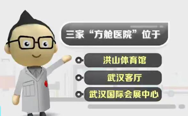"""武汉将改建三家""""方舱医院""""收治患者"""