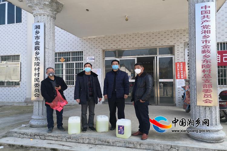 【防控疫情 我们在一起】应急管理局:为帮扶村送去防护物资
