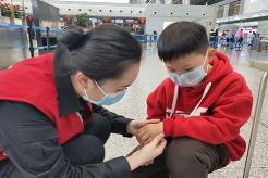 长沙黄花机场 防疫:严防严控不松懈,真情服务不降温
