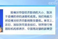 外交部 中国经济长期向好趋势不会因疫情而改变