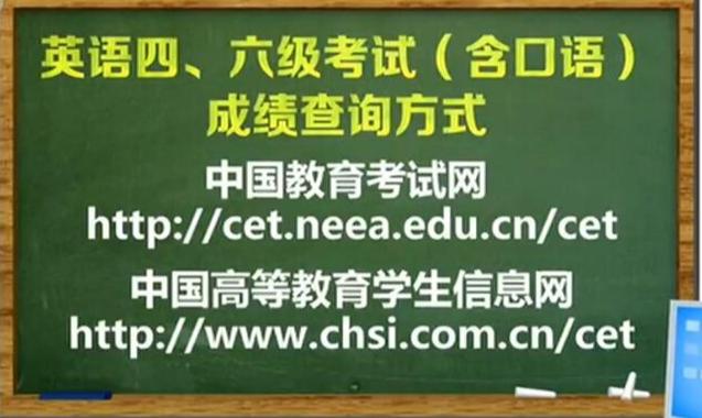 全国大学英语四六级成绩于2月21日发布