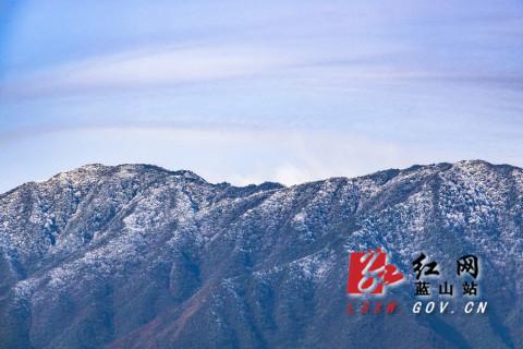 永州蓝山:第一场春雪(图)
