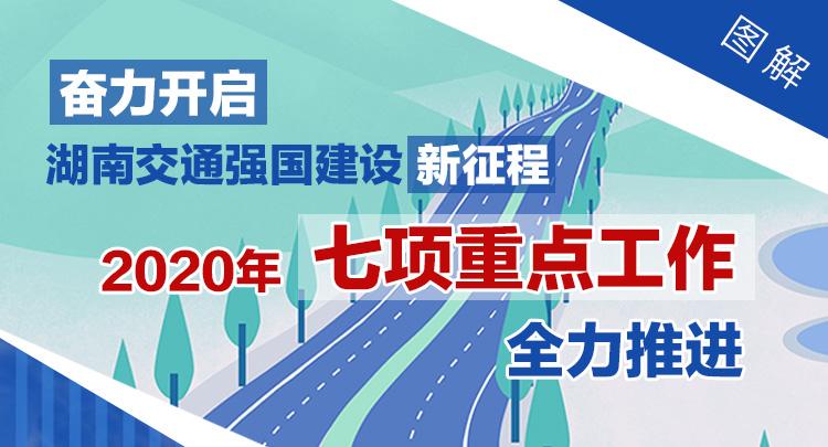 图解:2020年湖南交通7项重点工作