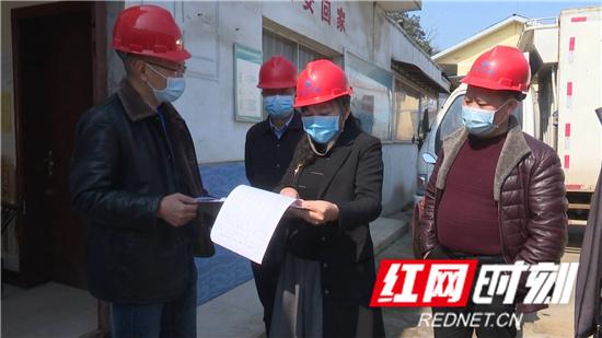 田华玉调研慈利县企业复工复产、疫情防控工作