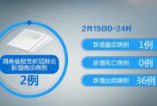湖南19日新增确诊2例 在院治疗428例 累计出院578例