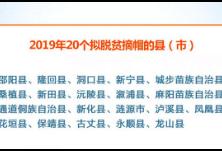 湖南20个拟摘帽县(市)公示