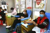 祁东:撸袖献血战疫情