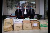 株洲渌口区收到华人华侨第四批捐赠物资