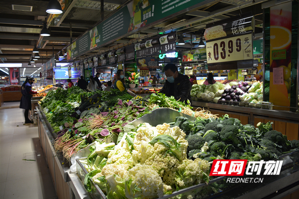 永州各大超市全力保障市民生活需求