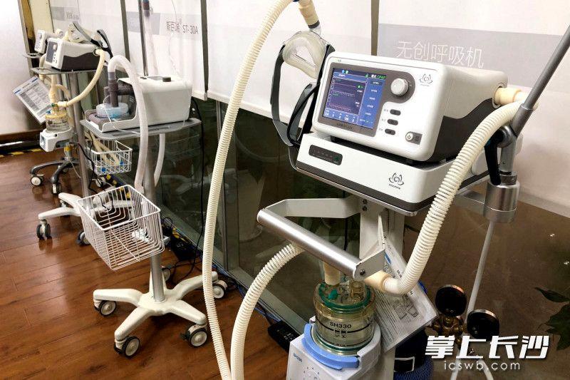明康中锦的产品在疫情防控中发挥了重要作用。长沙晚报全媒体记者 刘琦 摄