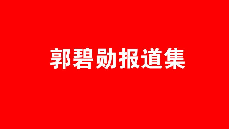專題 | 郭碧勛報道集