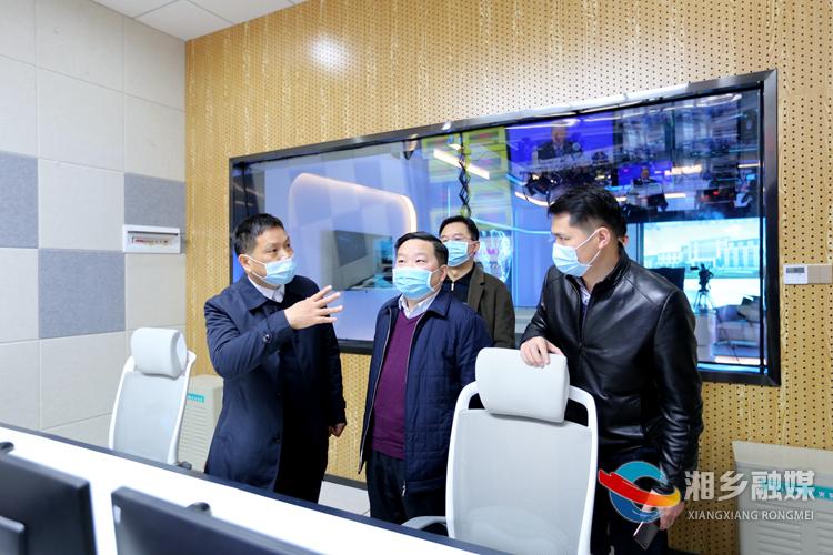 融媒建设正酣!亚洲城娱乐手机登录入口融媒体中心迎来湖南日报社长沙分社客人