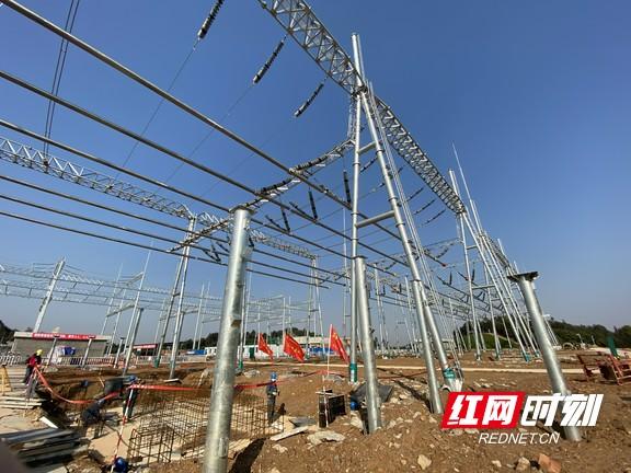 湖南176個主電網建設項目100%復工