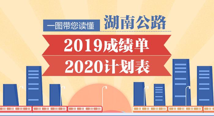 图解:一图带您读懂 湖南公路2019成绩单 2020计划表