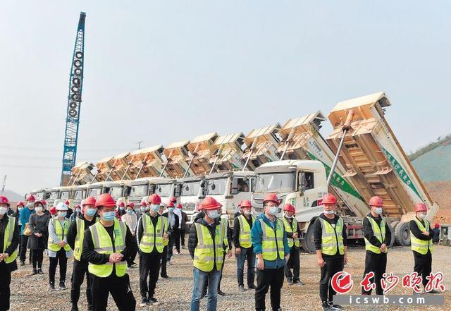 长沙高新区20个项目集中开工 总投资149亿元