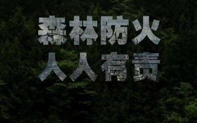 溆浦地 森林防火这件事,必须硬核!