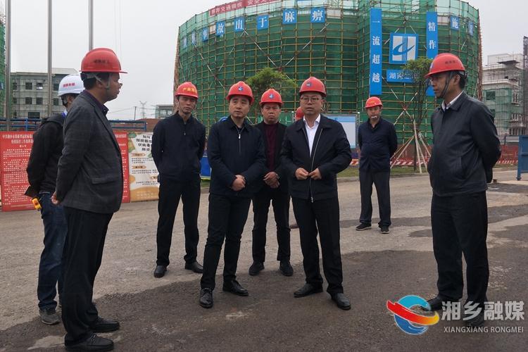 彭瑞林经开区调研:苦干三年 进军全省产业园区二十强