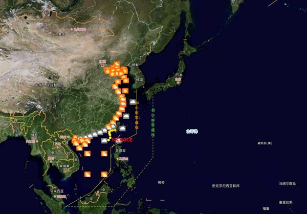 """辟谣  """"今年1号台风要来 五一假期要泡汤"""" 假的!!"""