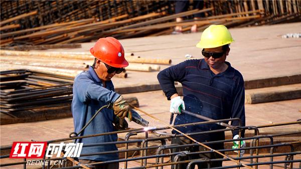 組圖丨永州:勞動節,項目工地趕工忙