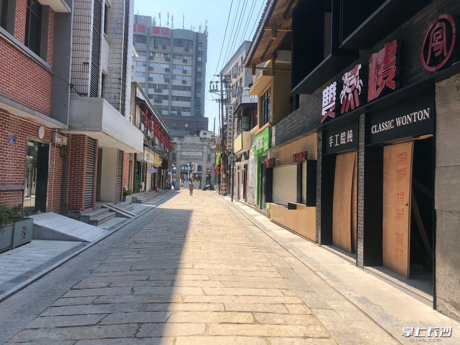 有机更新再次焕发生机的北正街。