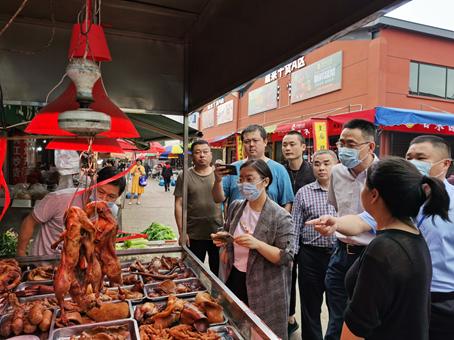 湖南省计量院配合岳麓区市场监管局开展计量器具现场免费检定活动