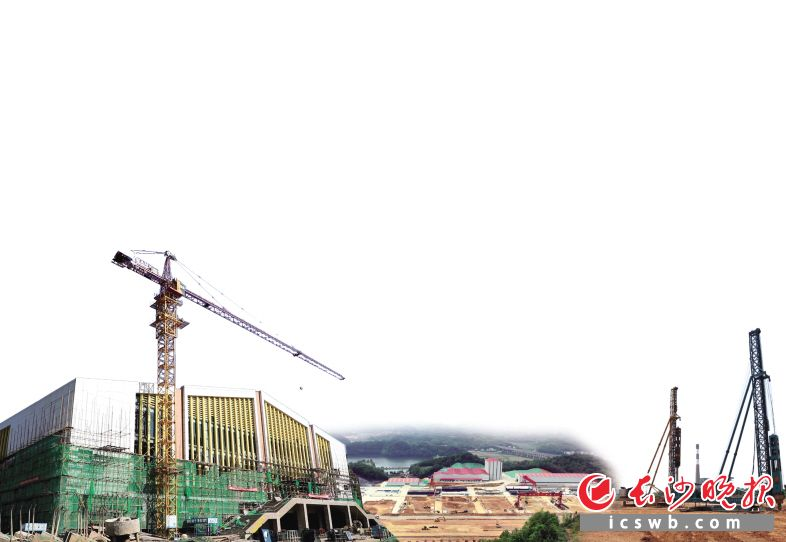 望城区上下齐心协力、紧抓快干,迅速掀起项目建设的高潮。