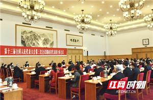 湖南代表团举行第二次全体会议