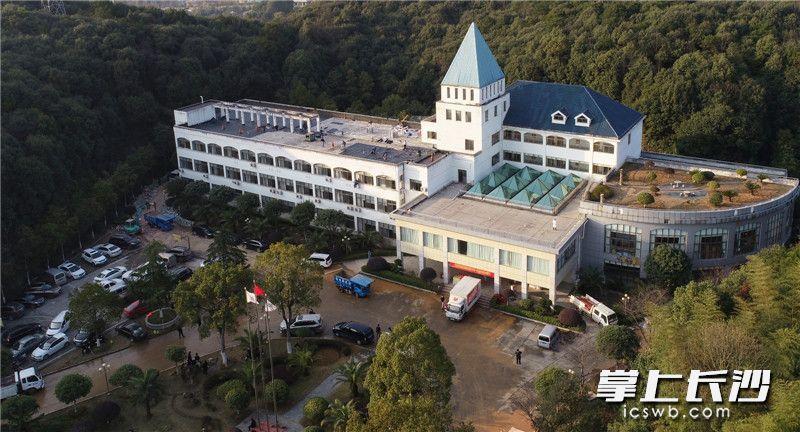 1月30日,长沙市第一医院北院(长沙市公共救治中心)修缮改造工程完工。长沙晚报全媒体记者 邹麟 摄