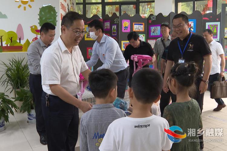 彭瑞林寄语全市少年儿童:加强学习 强健体魄 磨练意志