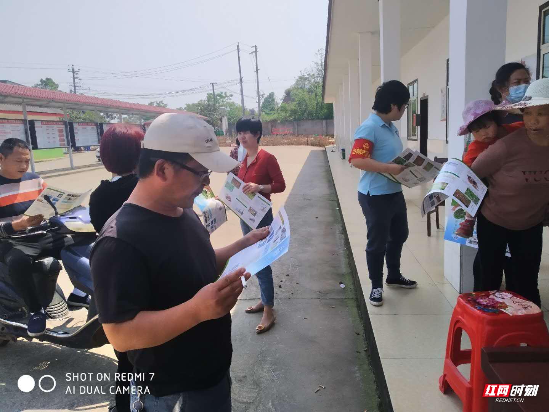株洲市天元区广泛开展农村法治宣传月活动