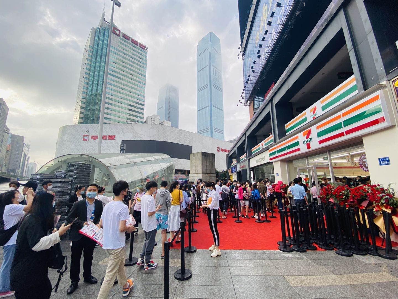 50.7万!长沙店创全球7-ELEVEn首店单日最高营业额。