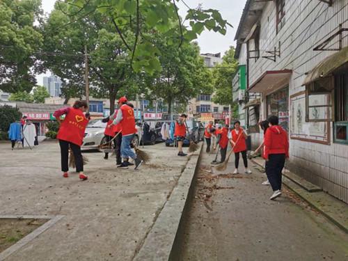 【新时代文明实践雨湖行】许家铺社区来了一群可爱的创文志愿者