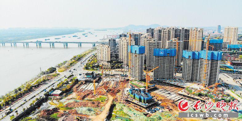 规划中的秀峰商圈环境优美、交通便利。长沙晚报通讯员 曾嵘 摄