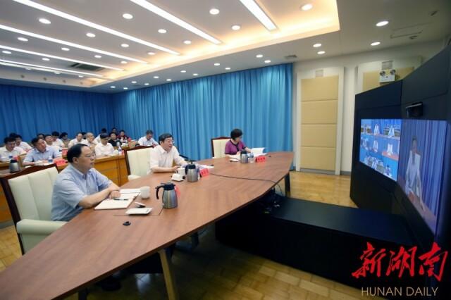 7月2日下午,省委书记杜家毫主持召开市州委书记视频会议。.jpg