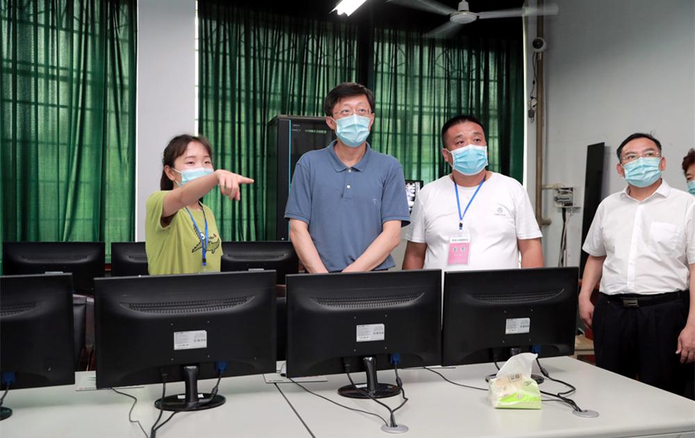 刘非:让每位考生在安全公平环境下顺利完成高考