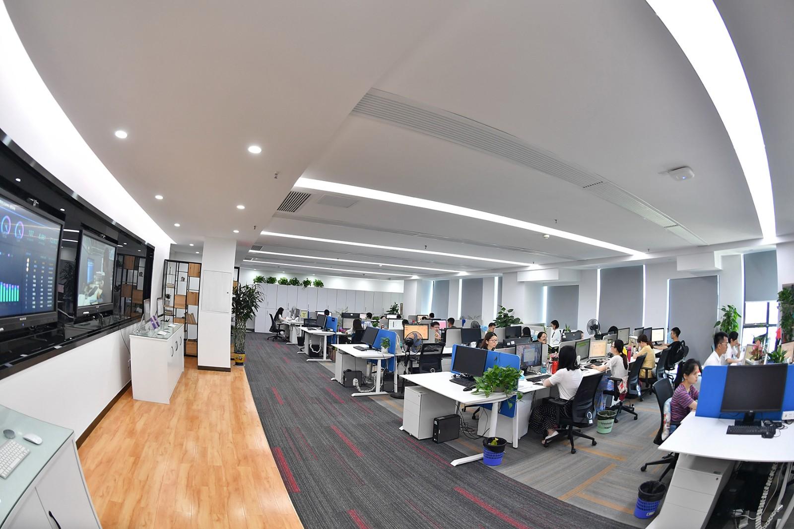眼下,长沙软件行业企业达到9千家,软件业营收超600亿元,有望崛起为长沙下一个千亿产业。图为金蝶软件。 长沙晚报全媒体记者 王志伟 摄