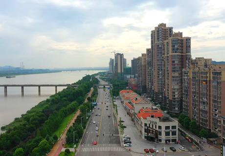 湖南湘潭县各系:航拍镜头下的大美莲乡