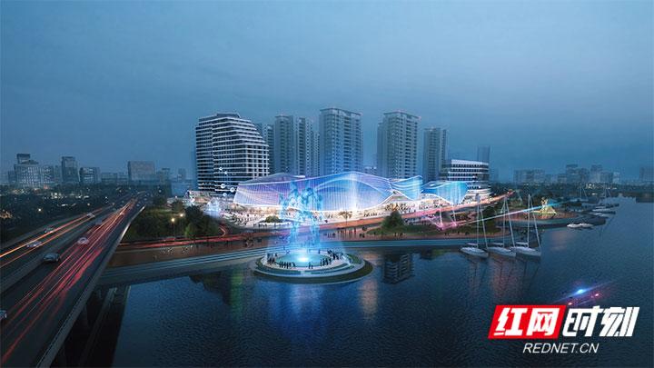 新松机器人欢乐城项目开工 张家界添大型城市综合体项目