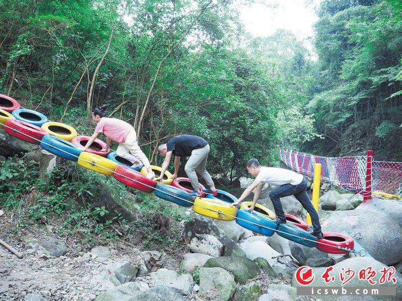 过去几年,景区逐渐开发了一系列游乐项目,实现了景区品质的快速提升。王鑫平 供图