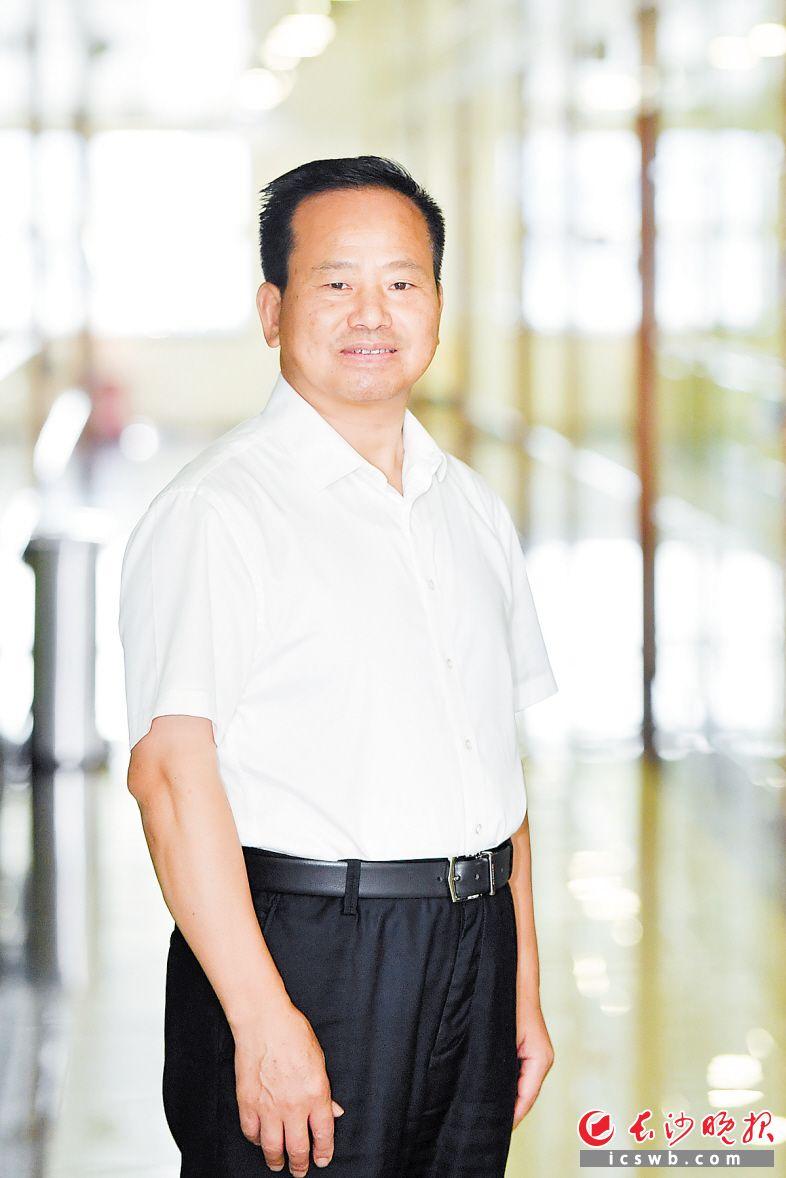 长沙高新区党工委书记周庆年  长沙晚报全媒体记者 王志伟 摄