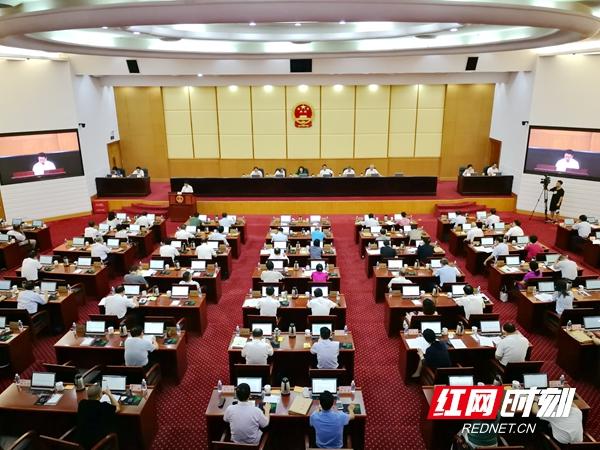 7月29日上午,省十三届人大常委会第十九次会议举行第二次全体会议。.jpg